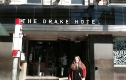 Artist's Vacation at The Drake Hotel